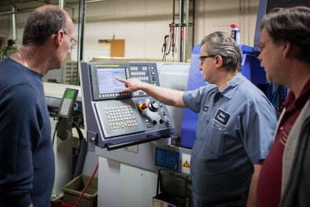 Ongoing training is an important part of productivity and quality at Hudson Precision Products