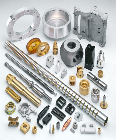 A few examples of the many parts produced by Hudson Precision Products